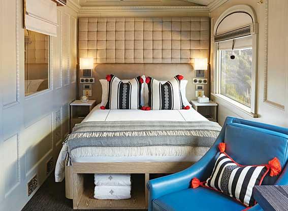 Belmond Andean Explorer Bedroom