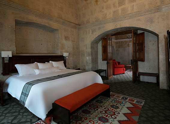 Casa Andina Premium Arequipa Suite Bedroom