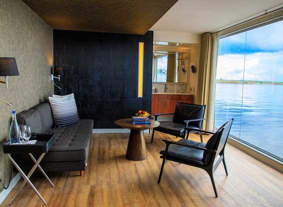 Room on the MV Aria