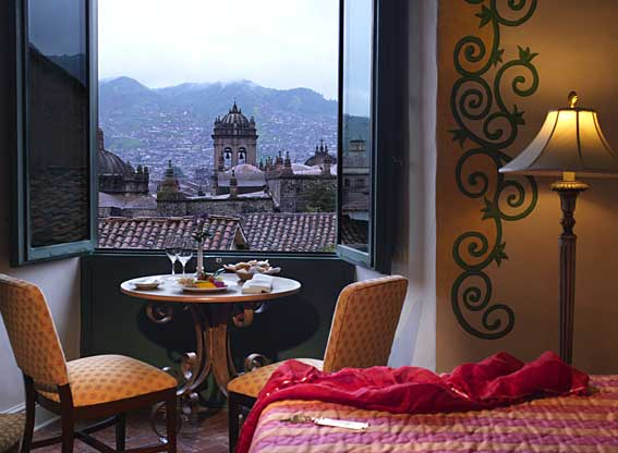 Bedroom View at Hotel Monasterio