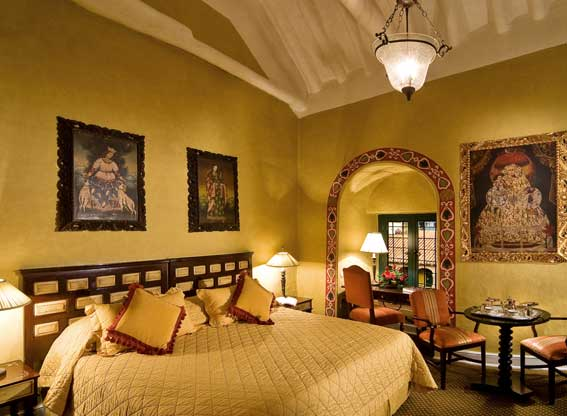Bedroom at Hotel Monasterio