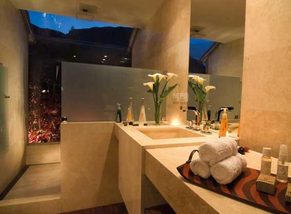 Bathroom at Rio Sagrado