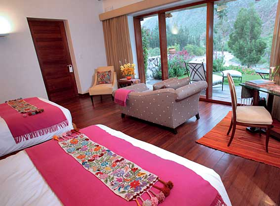 Junior Suite Bedroom at Rio Sagrado