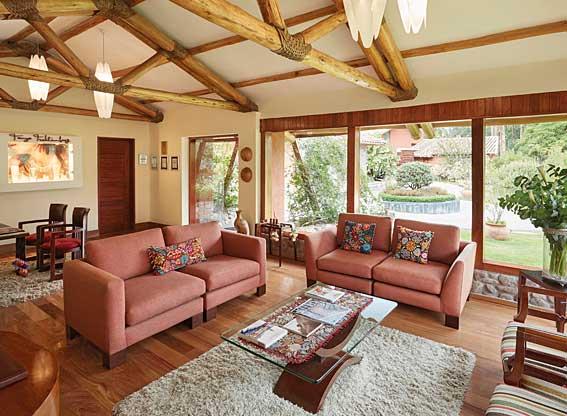 Villa Living Room at Rio Sagrado