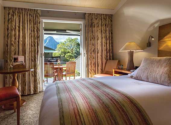 Sanctuary Lodge Deluxe Terrace Bedroom
