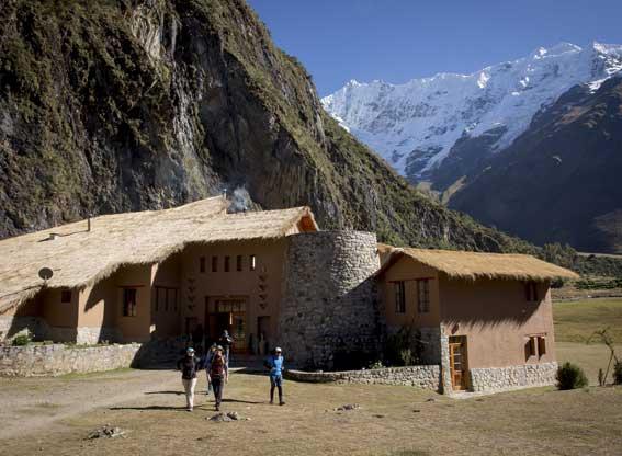 Mountain Lodges of Peru Salkantay Trek Sakantay Exterior