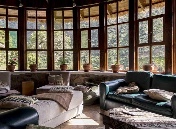 Mountain Lodges of Peru Salkantay Trek Colpa Lounge