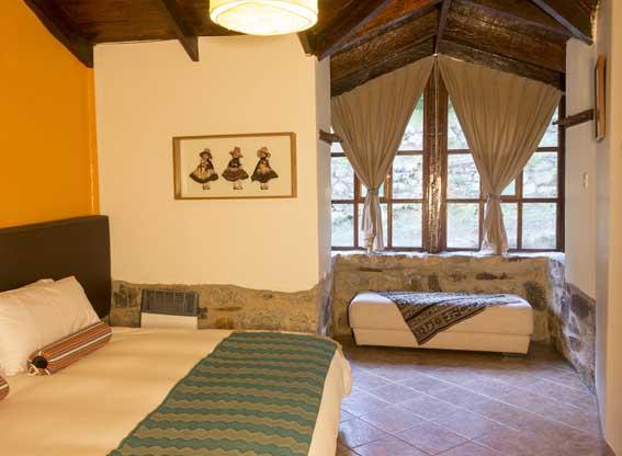 Mountain Lodges of Peru Salkantay Trek Colpa Bedroom