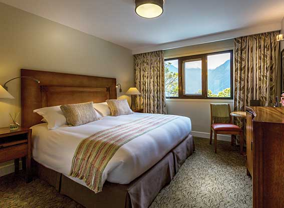 Sanctuary Lodge Bedroom