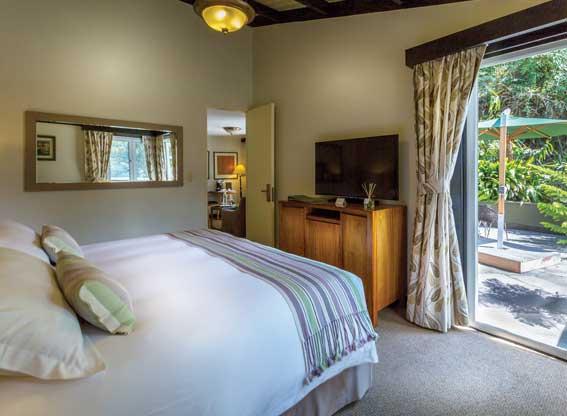 Sanctuary Lodge Suite Bedroom
