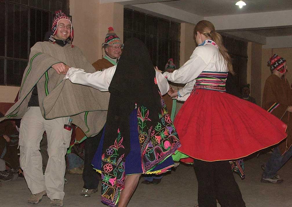 Amantani Island Homestay Dancing