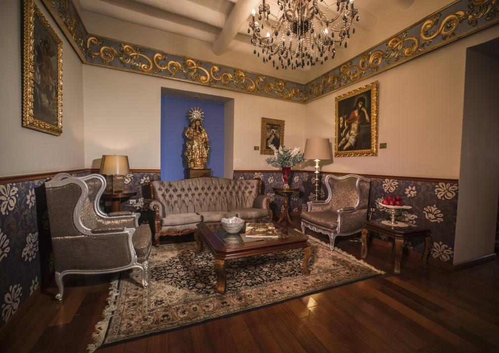 Aranwa Cusco Boutique Hotel Lounge