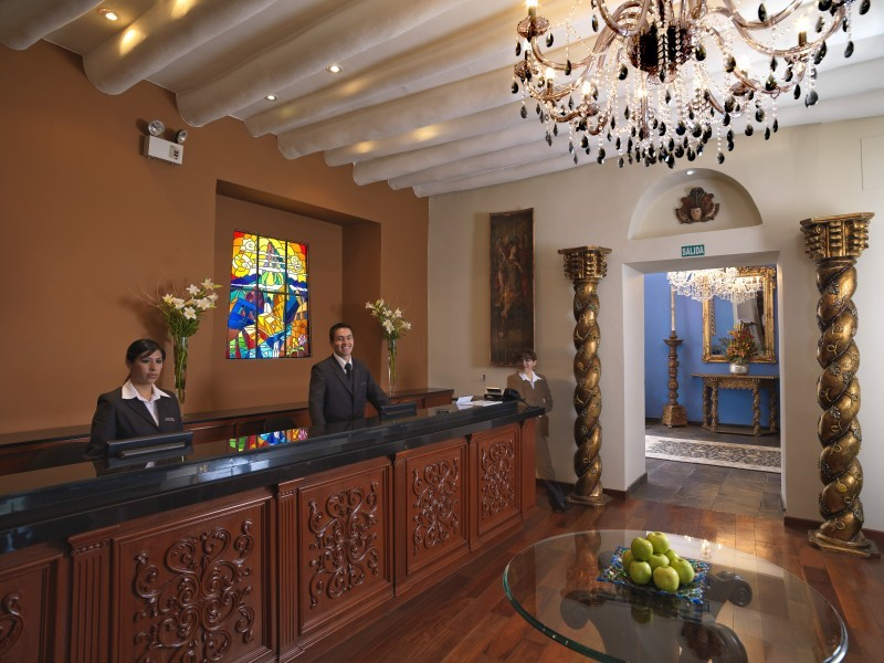 Aranwa Cusco Boutique Hotel Reception
