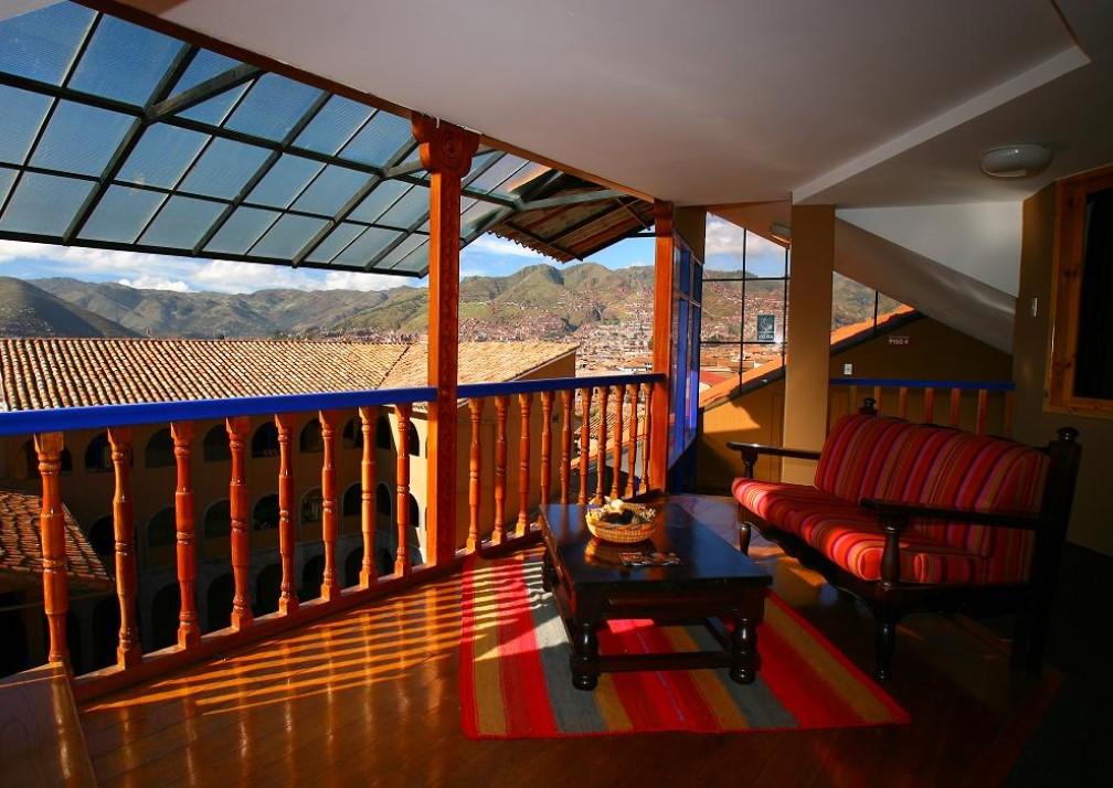 Casa Andina Cusco Plaza Balcony