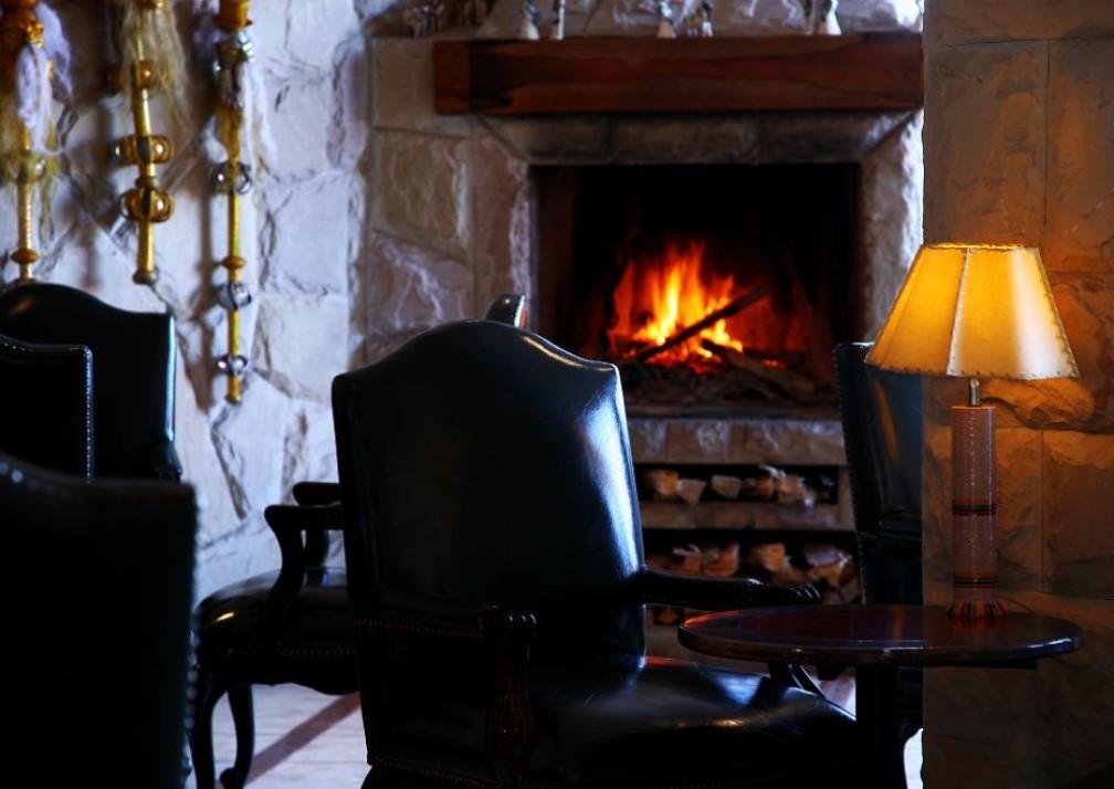 Casa Andina Premium Puno Fireplace