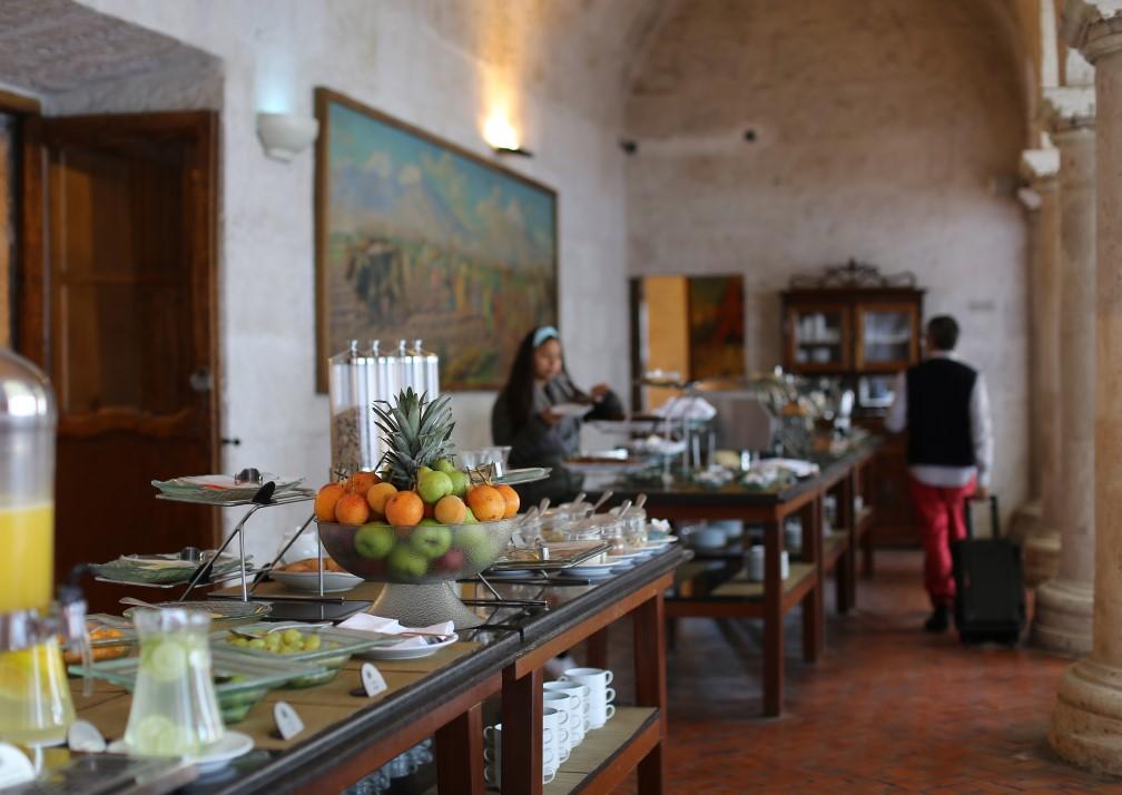 Casa Andina Premium Arequipa Breakfast