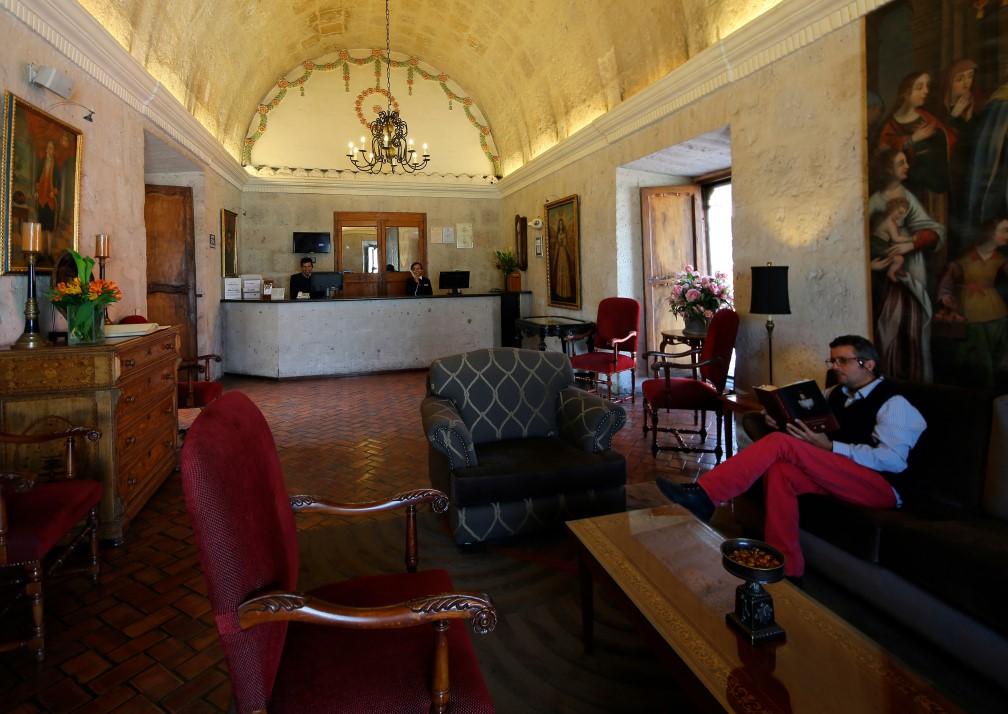 Casa Andina Premium Arequipa Reception