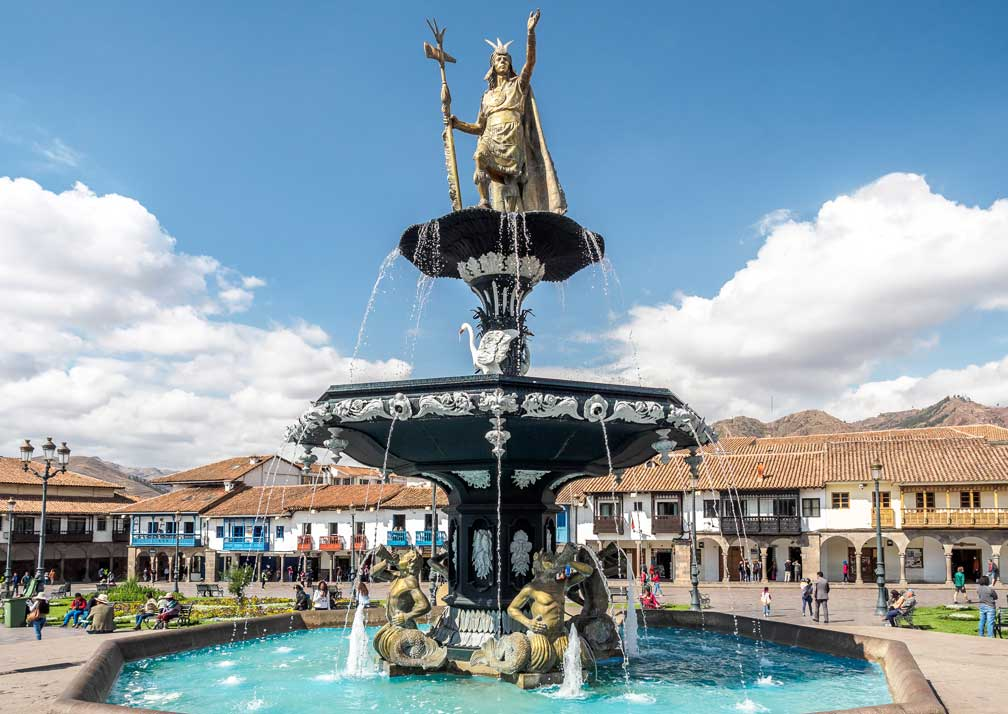 Cusco-fountain