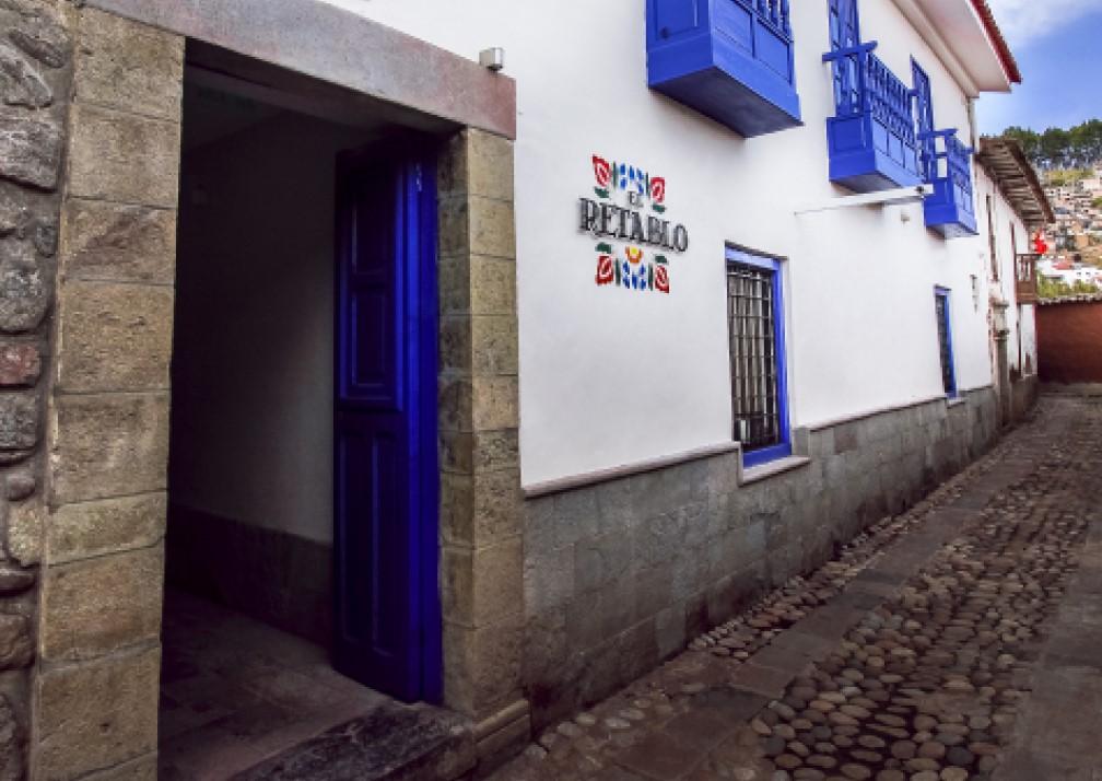 El Retablo Entrance