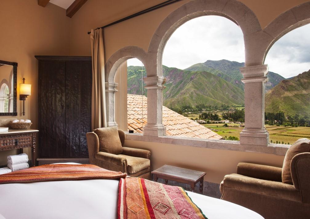 Inkaterra Hacienda Urubamba Bedroom View