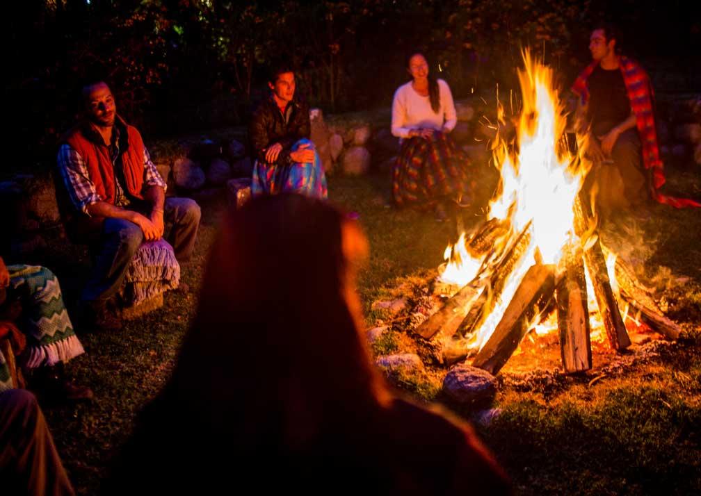 Kuychi Rumi Lodge Campfire