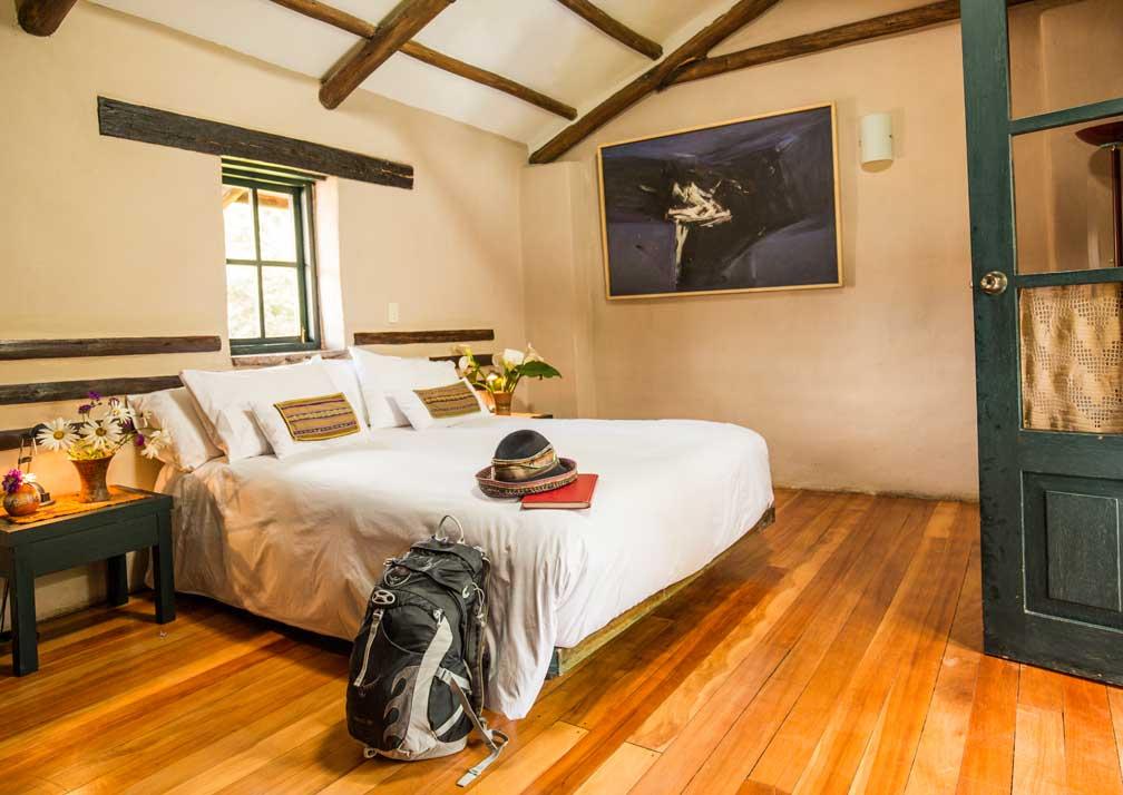 Kuychi Rumi Lodge Bedroom
