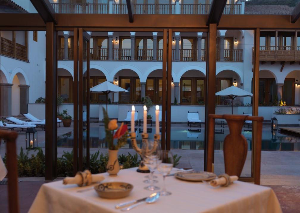 Belmond Palacio Nazarenas Dining