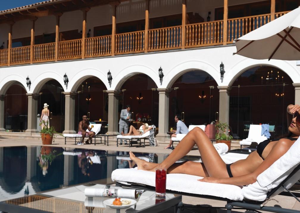 Belmond Palacio Nazarenas Pool