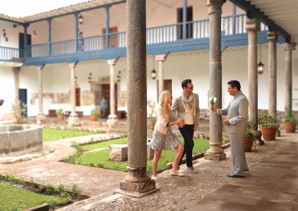 Belmond Palacio Nazarenas Welcome