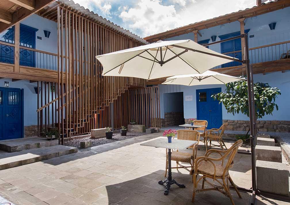 Quinta San Blas Courtyard