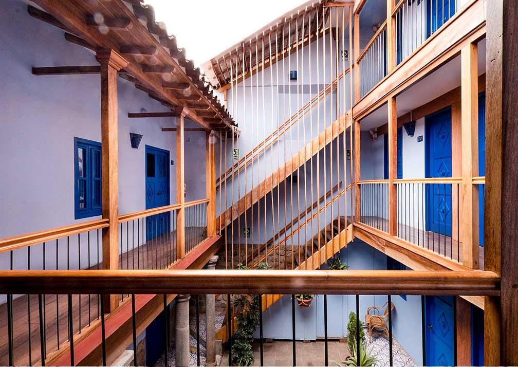 Quinta San Blas Staircase