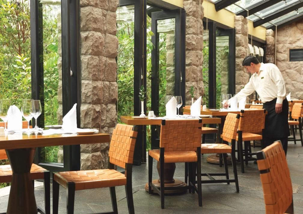 Machu Picchu Sanctuary Lodge Waiter