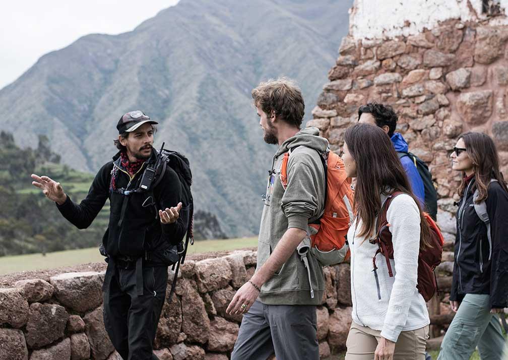 Guiding from Explora Valle Sagrado